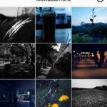 """日々の写真はInstagram""""記憶カメラ""""に置いています。"""