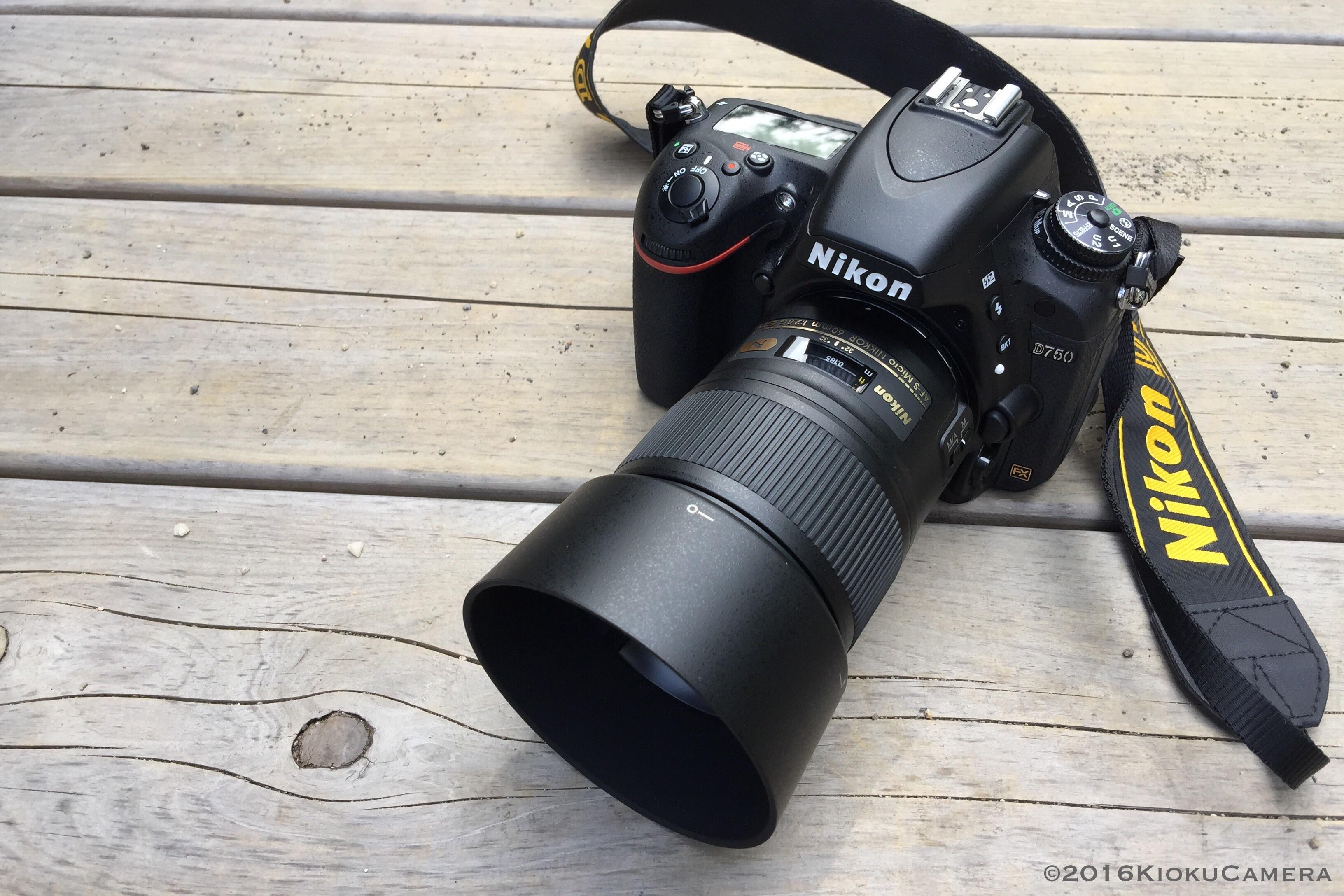 Micro 60/f2.8と散歩カメラについて。