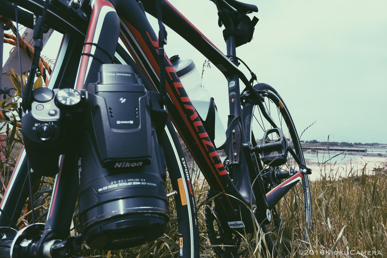 ロードバイクとNikon P900、これは双眼鏡ライドだ。