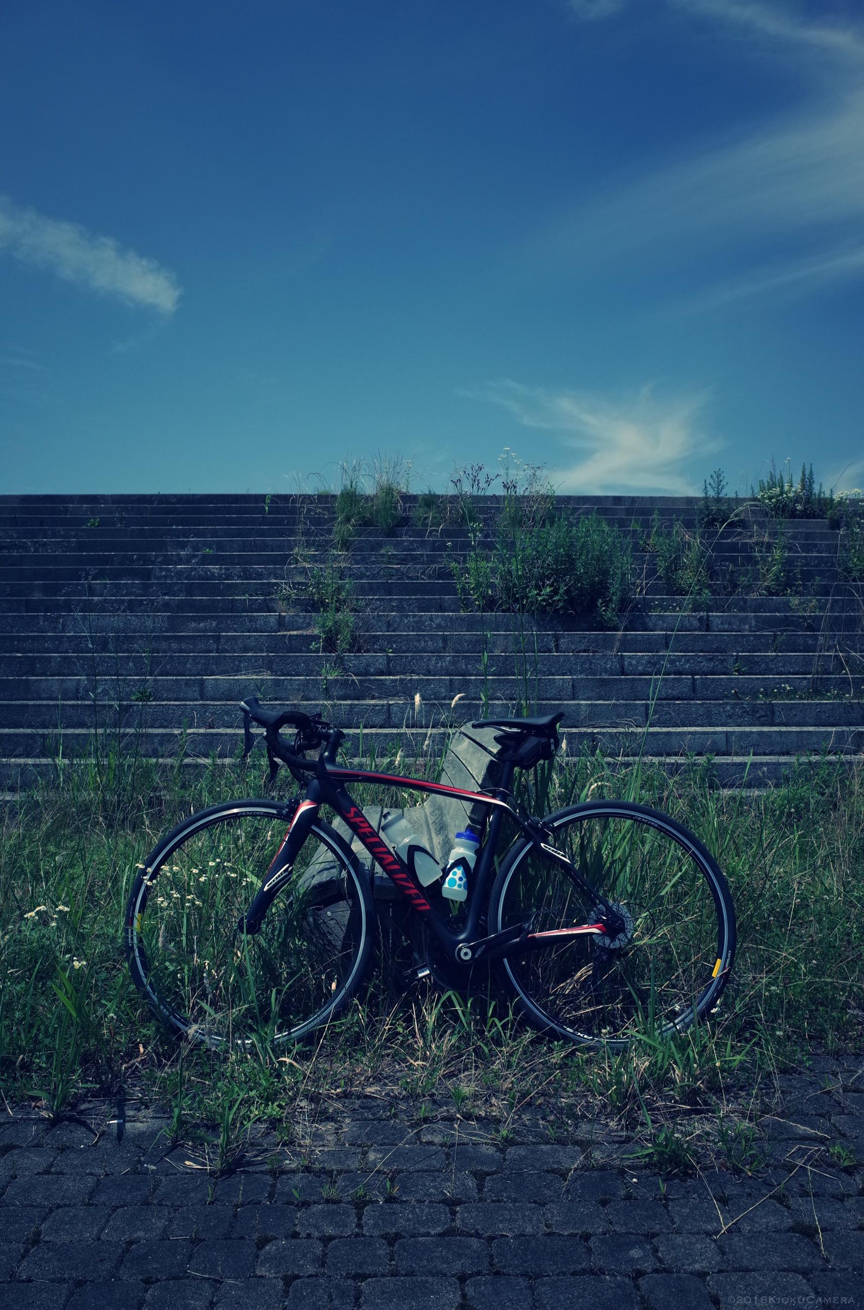 梅雨の快晴、恐ろしく気持ちよかった。週末×ロードバイク×GR。