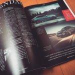 BMW Group Magazineの最新号が届いた。紙の本はやっぱりいいね。