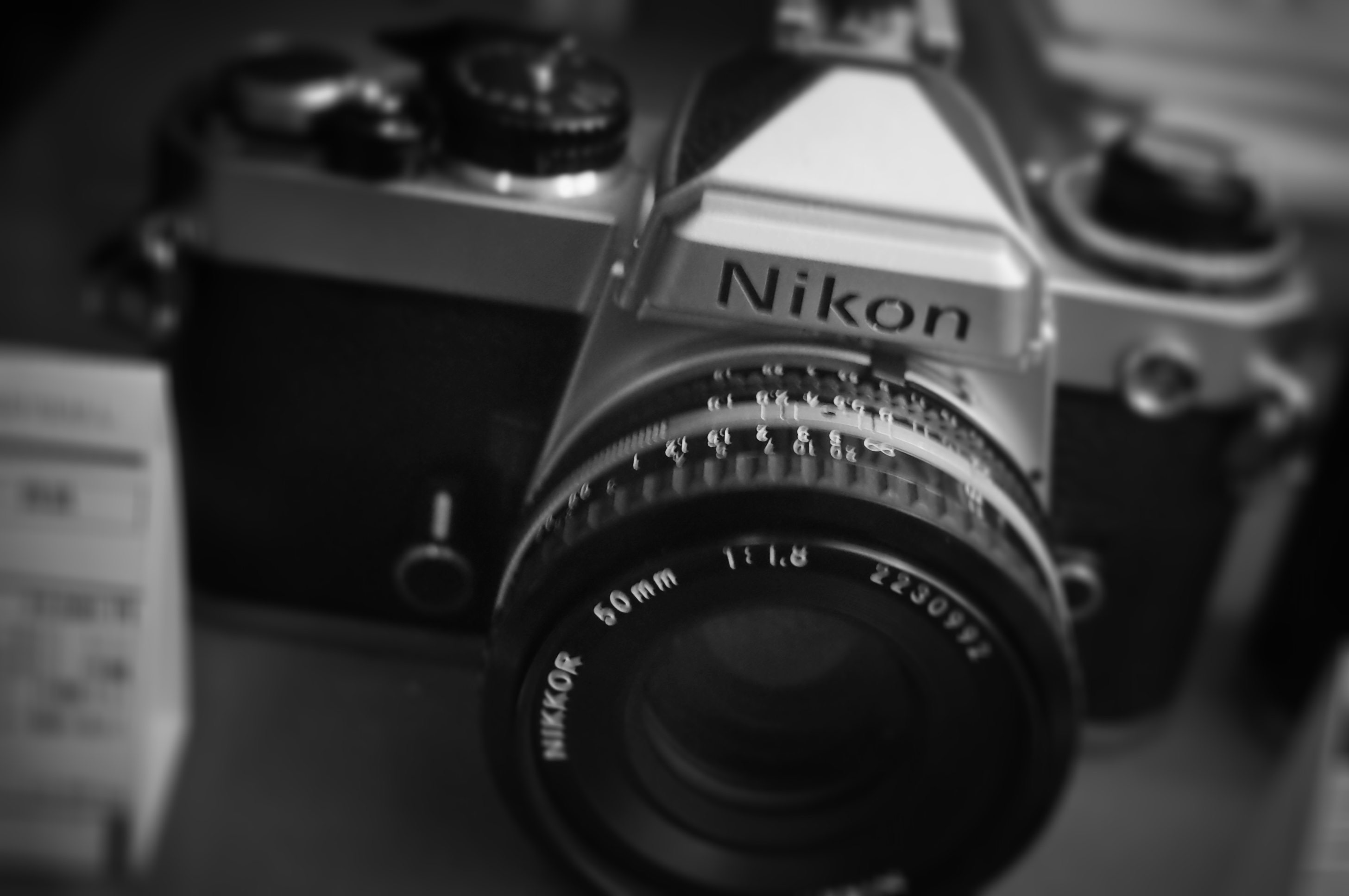 Nikon FE君が僕を見ていた。