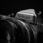 """眺めのいい週末が始まった。""""シンプルニコン""""Nikon FEと。"""