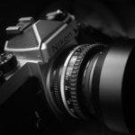 Nikon FE用のレンズシェードが届いた。なかなか精悍だ。
