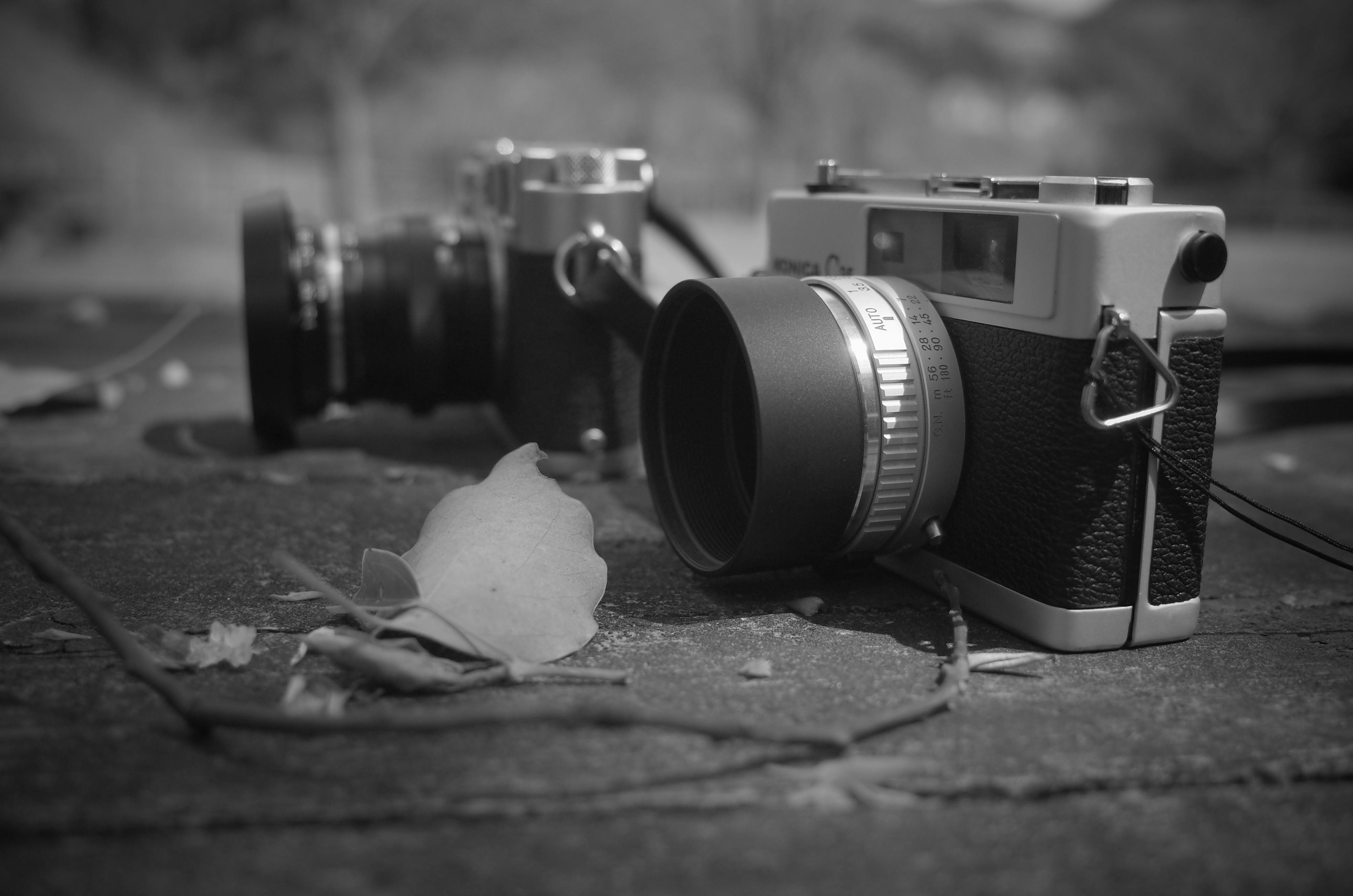 カメラの歴史を見てきた人と話をするのは、とてもとても楽しい。