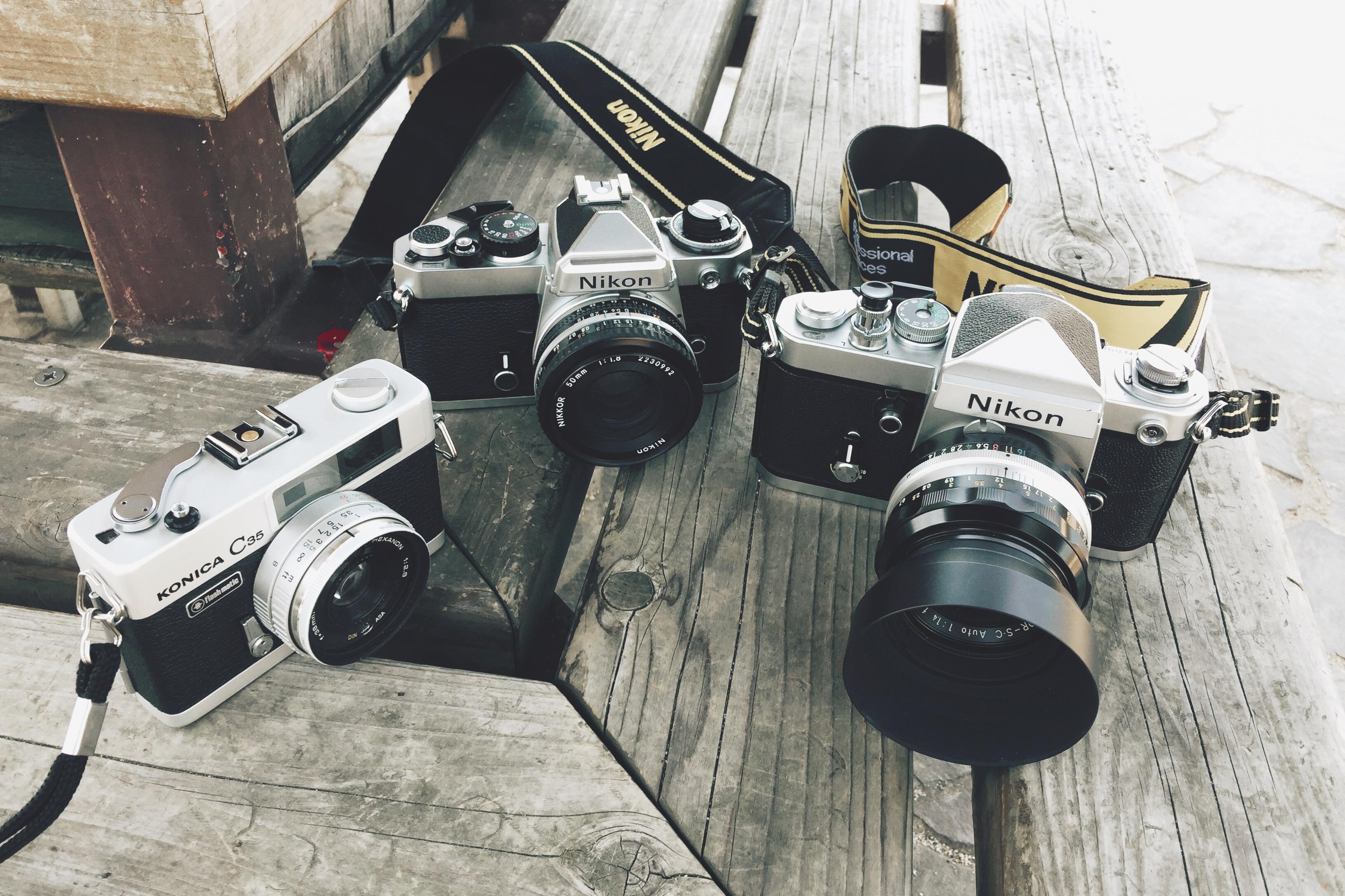 カメラが増えてくと、思い出も増えてく。