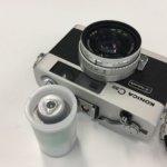 フィルムを使い切らずに、それぞれのカメラに残し始めたから、今週の現像は24枚撮り1本に。