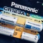 Nikon F6用の電池「CR123A」はいつも在庫ストックしている。