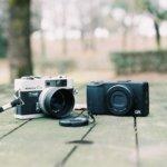 カメラもスマホも小さいって素晴らしい。片手でヒュンヒュンって操作できるっていうね。