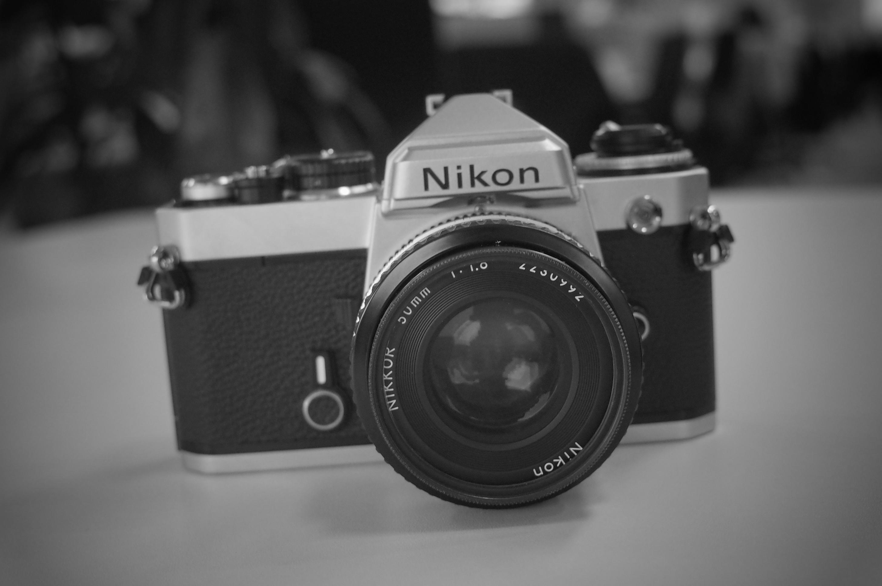 Nikon FEがくれる癒しについて。