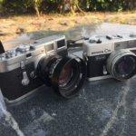 じぶんの所有カメラ。タイプ別にみるとなかなか理にかなってるなと。
