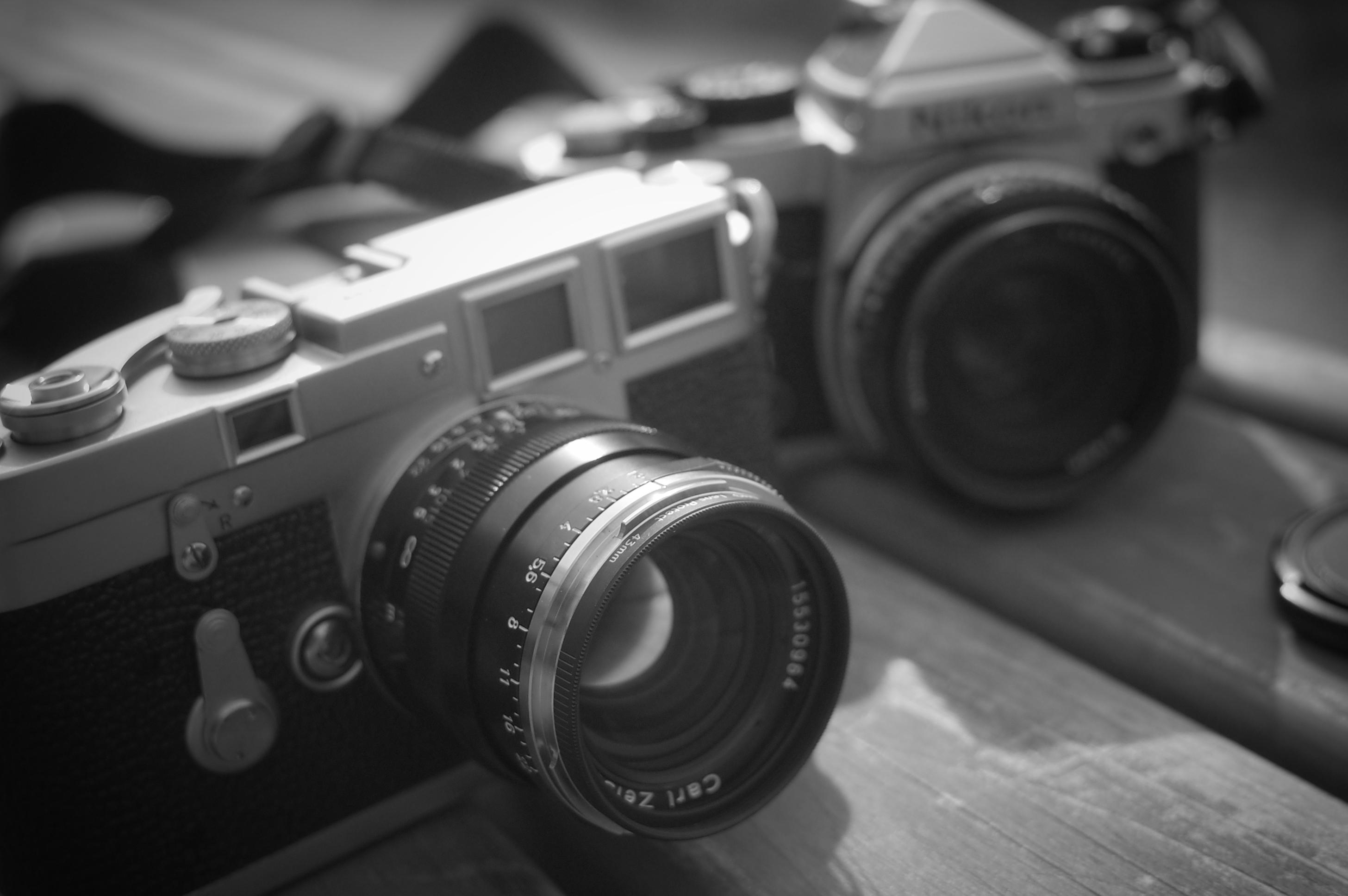 元旦の朝。僕と、僕のカメラたちについて。