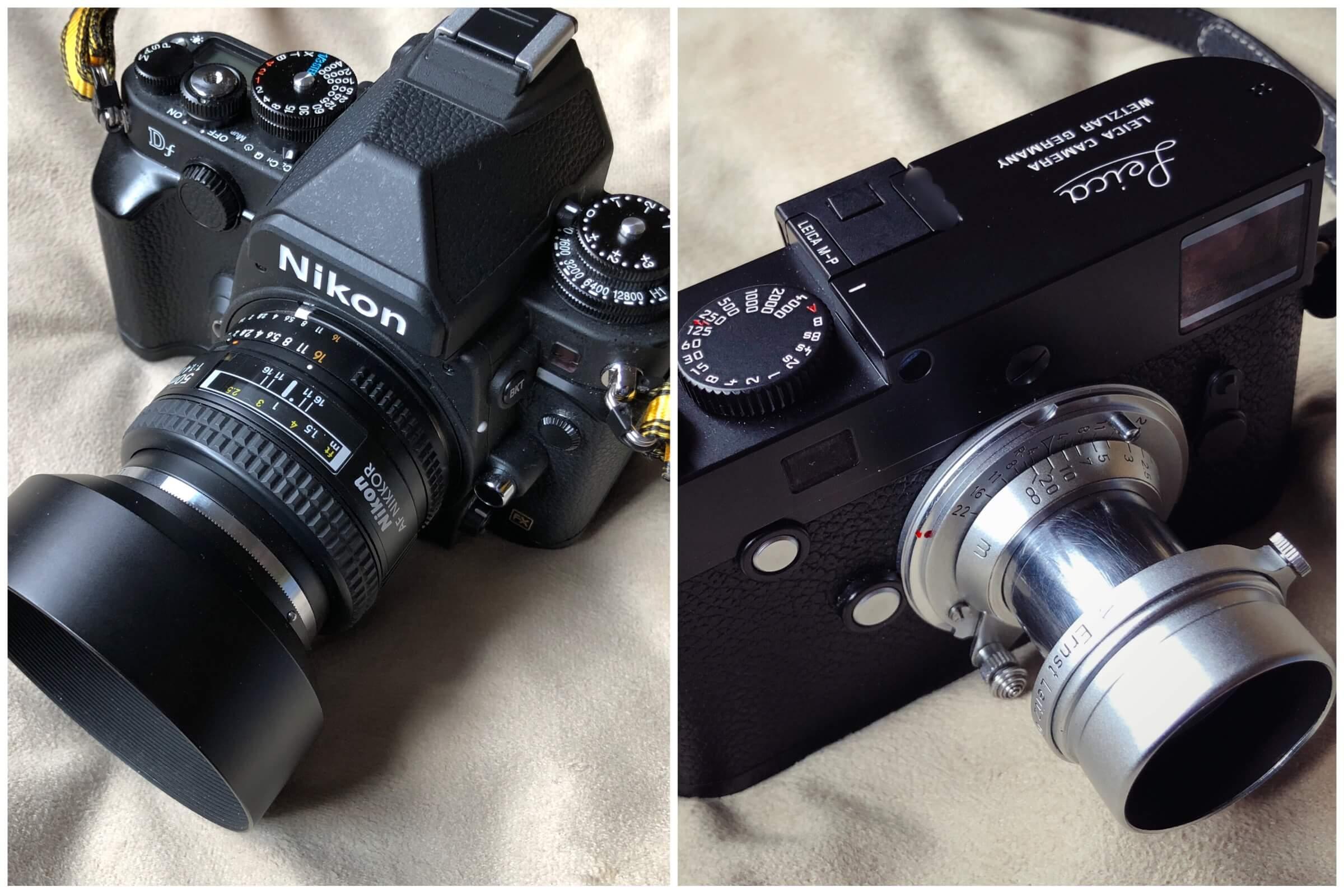 Nikon DfとLeica M-Pのおかげで、デジタルが身近な存在になった。