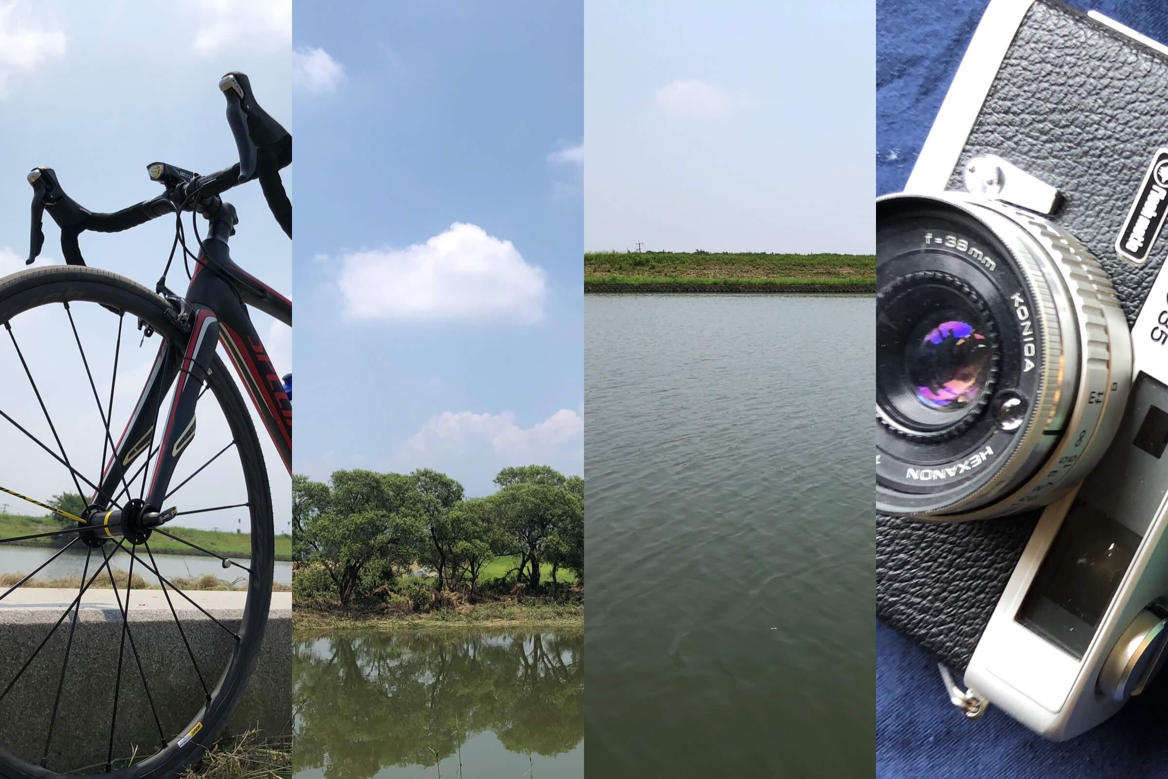 カメラとロードバイクは最高に相性がいいと思うよ。