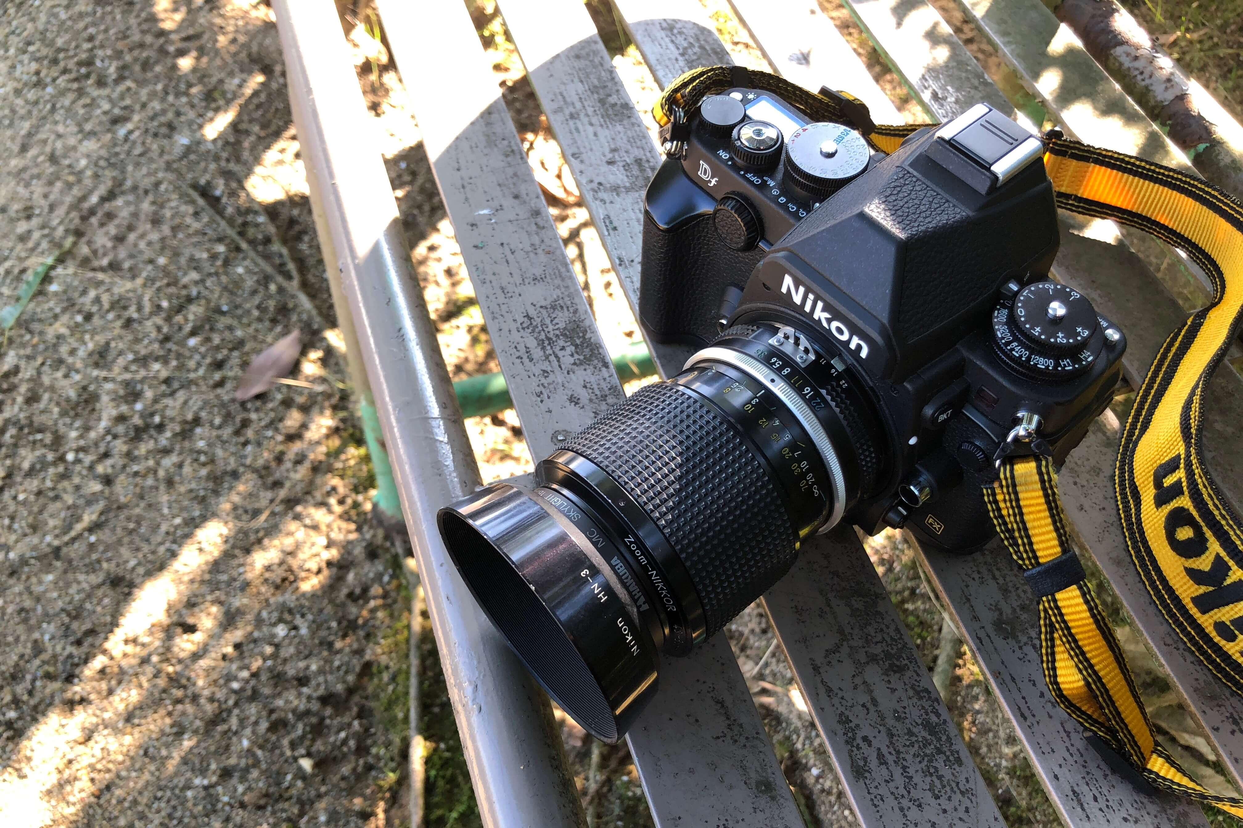 究極の一台というなら、Nikon Dfと標準ズーム43-86/3.5でどうだろう。