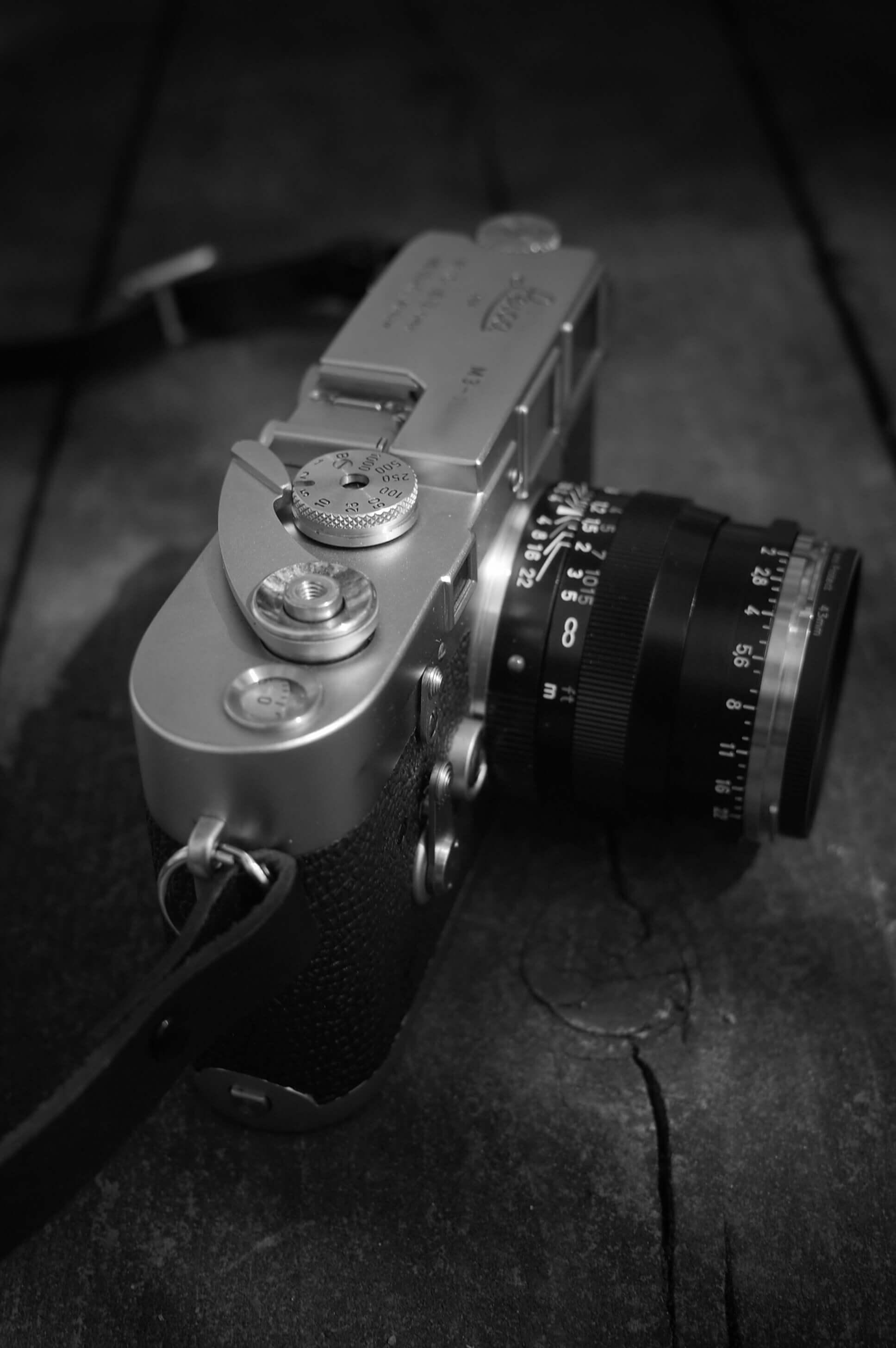 Leica M3というカメラが特別な存在であることは間違いない。