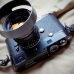 大事にしたいというより酷使したい道具感、Leica M-P×Summilux50。
